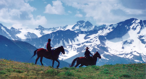 Horse riding vacations in Canada