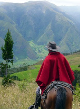 Horse riding vacations in Ecuador
