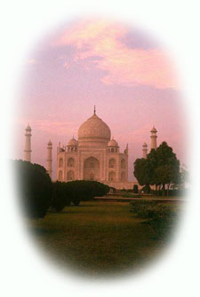 Horse riding vacations in India Taj Mahal