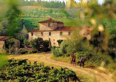 Horseback riding in Tuscany - Italy