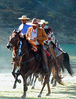 Horse riding vacations in Mexico