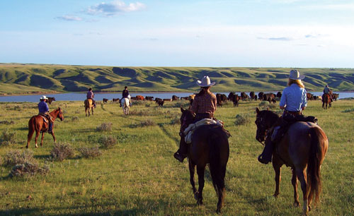 Horse riding vacations in Saskatchewan