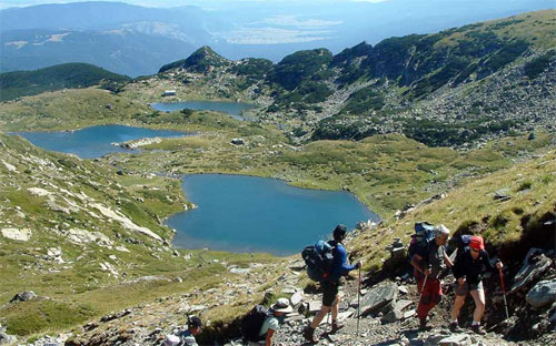 Hiking, walking, trekking in Europe