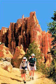 Guided and self guided walking tours in the USA