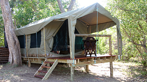 Two mashatu Camp in Botswana