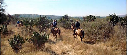 Five haciendas Ride