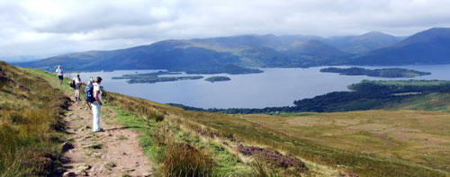 Hiking the West Highlands Way in Scotland with Hidden Trails