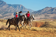 USA-Wyoming-Bighorn Mountain Ranch Hideout