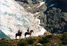 Argentina-Southern Patagonia-Lake Viedma Glacier Riding Escape