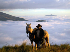 Ecuador-Highlands Riding Tours-Volcano Avenue and Haciendas Ride
