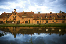 Poland-Masuria-Historic Palace in Masuria