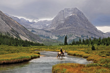 Canada-Alberta-Banff  - Cascade Valley Trail