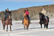 Canada-Alberta-Winter Wonderland Ride