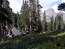 USA-Colorado-Weminuche Wilderness Pack Trip