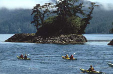 Canada-British Columbia-God's Pocket Sea Kayaking