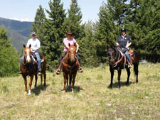 Canada-British Columbia-Thompson-Nicola Guest Ranch