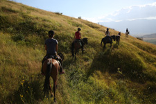Albania-Central-Vjosa River Trail Ride