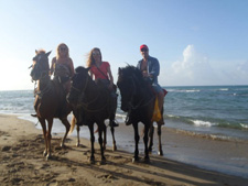 Dominican Republic-Puerto Plata-Full Moon, Beach and Mountain Riding Adventure