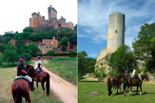 France-Dordogne-Castles of Perigord - Guyenne, Quercy and Perigord