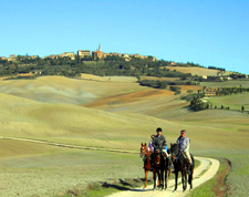 Italy-Tuscany-Medieval Castles Ride in Tuscany