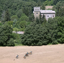 Alta Tuscany Castle Ride