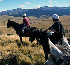 New Zealand-South Island-Southland High Country Station Ride