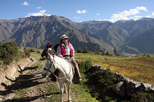 Riding in Peru - Colca Canyon