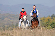 On Horseback in Serbia
