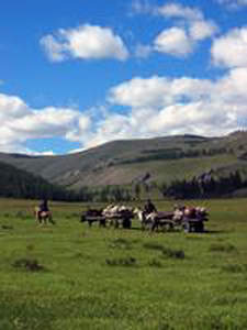 Trails of the Tsaatan Nomads