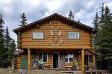 Canada-Alberta-Banff  - Storm Pack Lodge Ride