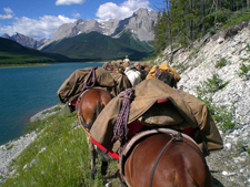 Canada-Alberta-Banff  - Wilderness Tenting Ride - 5 days