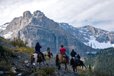 Canada-Alberta-Banff  - Backcountry Lodge Ride