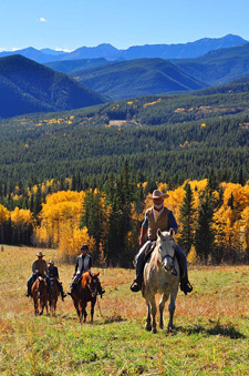 Canada-Alberta-Indian Summer Ride