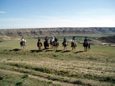 Canada-Alberta-High Plains Drifter Ride