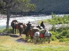 Canada-British Columbia-South Chilcotin Pack Trip