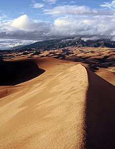 USA-Colorado-Sand Dune National Park Ride