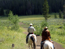 USA-Wyoming-Grand Teton Wilderness Ride