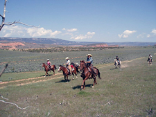 USA-Wyoming-Big Horn Basin Rides in Wyoming