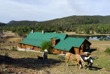 USA-Arizona-Cattle Ranch in Pleasant Valley