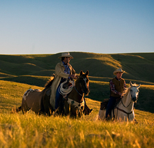 Canada-Saskatchewan-Saskatchewan River Valley Ranch