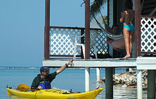 Belize-Belize Coast-Paradise Islands Sea Kayaking