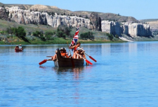 USA-Montana-Lewis and Clark Canoe Voyage