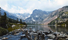 USA-Colorado-Rocky Mtn Continental Divide Hike