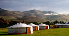 Mongolia-Khan Khentii-Jalman Meadows Ger Camp