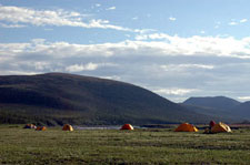 Canada-Yukon-Firth River - Rafting the Artic Slope