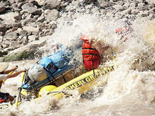 USA-Utah-Cataract Canyon Rafting by Oarboat
