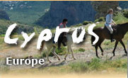 Horseback riding vacations in Cyprus