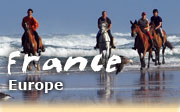 Horseback riding vacations in France, Landes