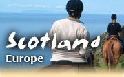 Horseback riding vacations in Scotland