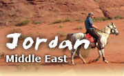 Horseback riding vacations in Jordan